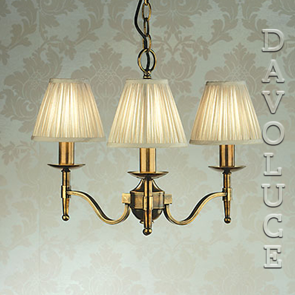Stanford 3 Light Chandelier Brass By Viore Disign Designer Paul Mulhearn Wall Lights