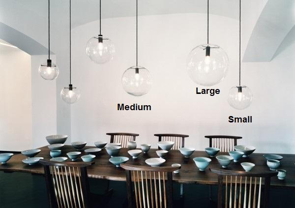 Selene Pendant Lamp Replica New Toledo Davoluce Lighting