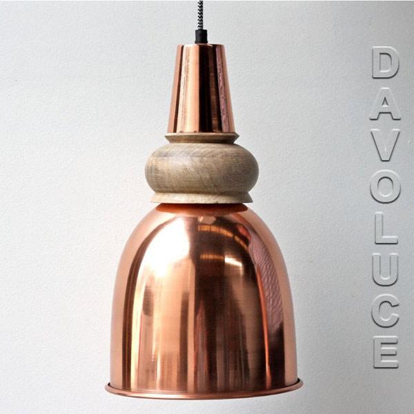Solid copper timber pendant lights australia davoluce lighting copper pendant lights melbourne vintage lighting australia copper industrial style pendant lights sydney aloadofball Images
