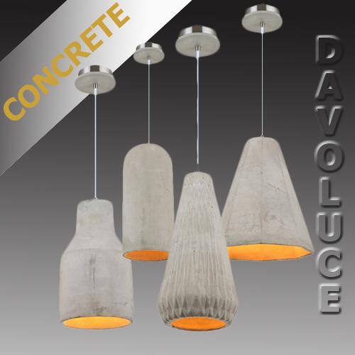 Ikon concrete pendant light from davoluce lighting view detailed images 4 aloadofball Images