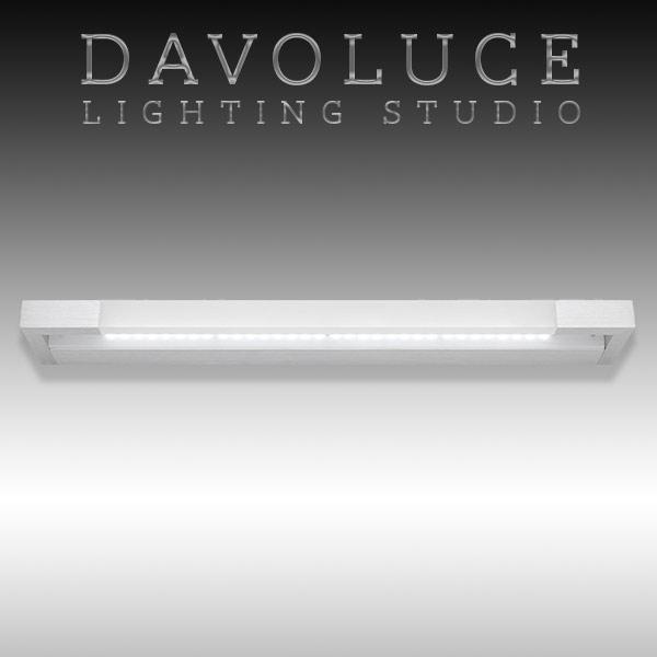 cougar lighting lynx led vanity light brushed aluminium davoluce lighting