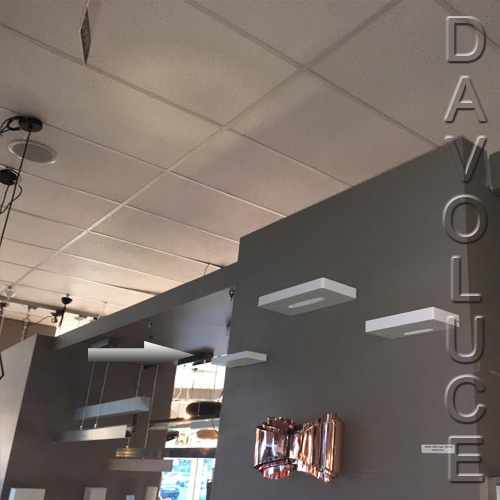 Lucitalia Milano Zero 0 17w Led Wall Uplight From Davoluce