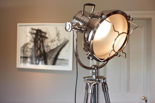 Art Deco Tripod Floor Lamp Tribedesign Retro Style Floor