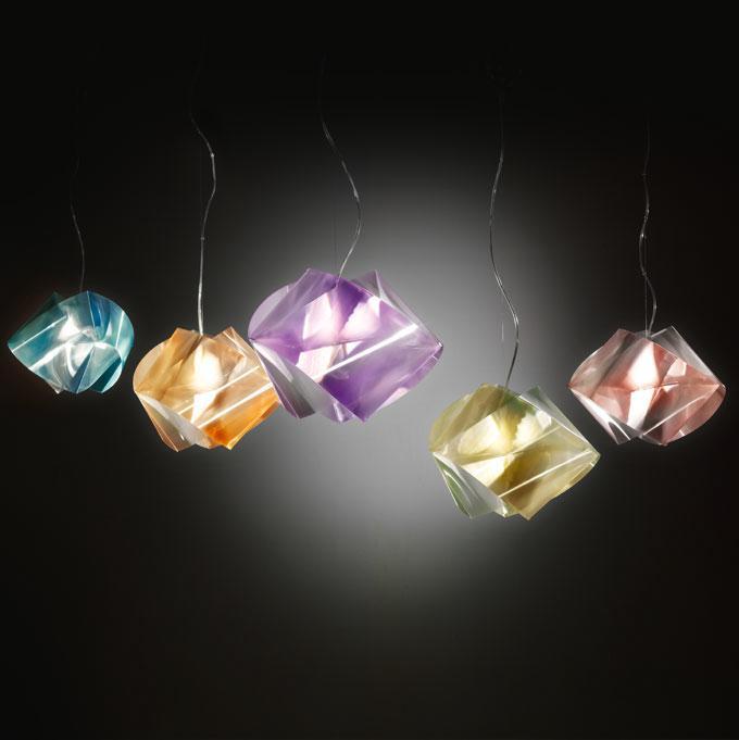 slamp the leading light gem04sos0000lcb gemmy prisma emerald color suspension. Black Bedroom Furniture Sets. Home Design Ideas