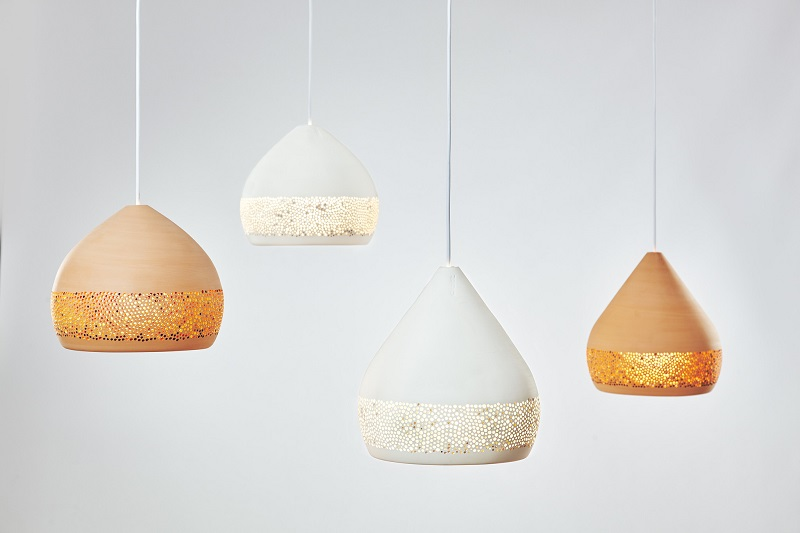 Sponge Oh Spanish Handmade Pendant Lights, Clay Pendant Lights By Pott From  Davoluce Lighting.