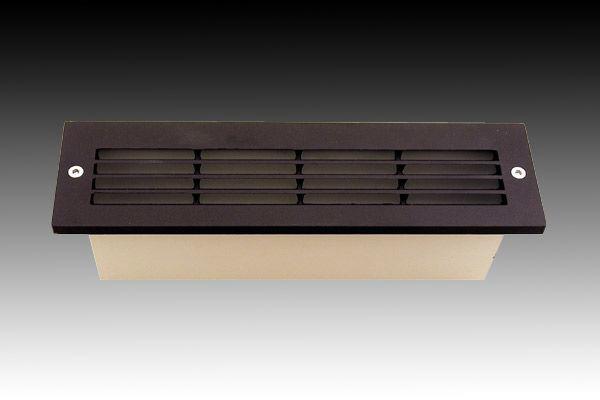 F713 Slimline Brick Light Wall Light Louvre From Gentech Lighting Buy Online Davolucelighting