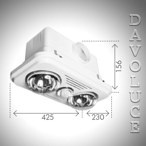 99955 05 Velocity 2 1 Bathroom Mate Davoluce Lighting