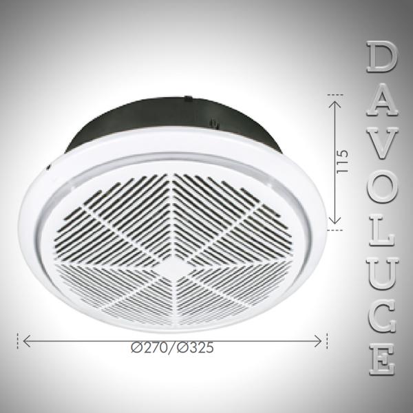 18203 05 Whisper High Velocity Small Exhaust Fan Davoluce Lighting Studio